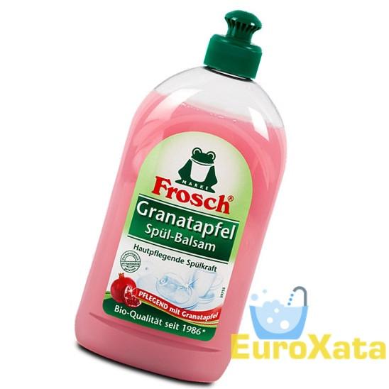Жидкость для мытья посуды MARKE FROSCH Granatapfel Spül-Balsam 500 мл (Германия)