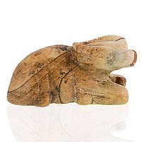 Яшма песочная, статуэтка Овен, 159ФГЯ