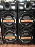 Активная акустическая система колонки FEIYANG E-252,  2х150W + Bluetooth