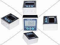Цифровой, электронный, магнитный уровень-угломер точность 0,1°. RICHMETERS 10034.