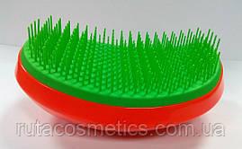 Расчёска Christian TT (зелёно-красная)