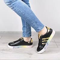 Кроссовки женские Rihanna Wild черные, белые кроссовки