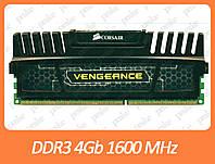 DDR3 4GB 1600 MHz (PC3-12800) Corsair Vengeance black