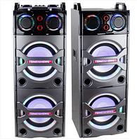 Активная акустическая система колонки Temeisheng T246 (колонки) 2х150W + Bluetooth