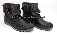 Утепленные женские ботинки с прорезиненным носком, р.36, 37, 38, 39, 40, 41 размер