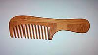 Расчёска деревянная QPI (гребешок, с ручкой)