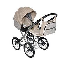 Универсальная коляска 2 в 1 «BabyPark»  Country, цвет кожа беж (CL0202)