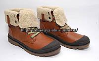 Утепленные женские ботинки с прорезиненным носком, р. 39, 40, 41 размер