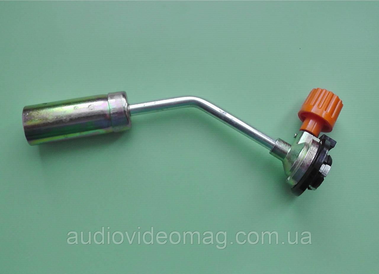 Газовая горелка, ручной поджиг, длина 19см