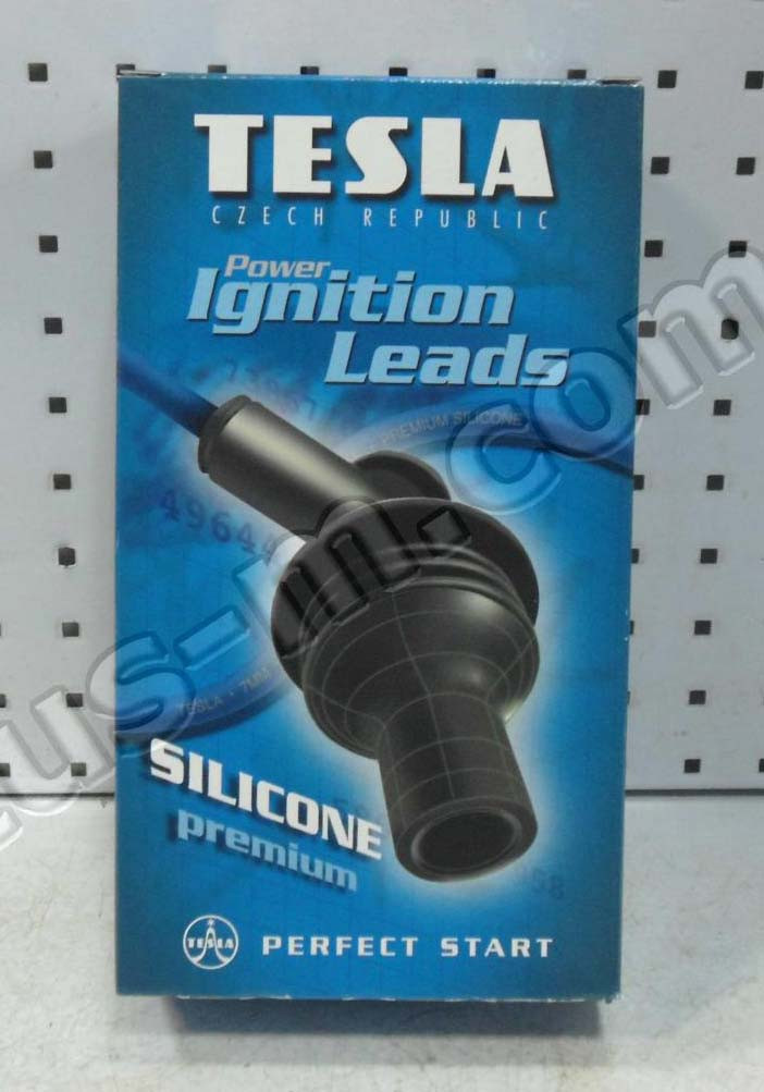 Провод зажигания в\вольтн. ВАЗ 2108-10 (карб.) силикон (компл.) (Т356S) (пр-во TESLA)