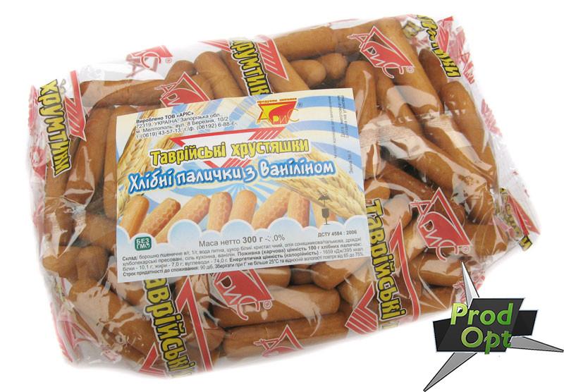 Хлібні палички з ваніліном 300 г