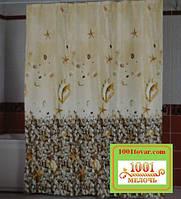 """Шторка для ванной комнаты """"Subaqua"""", размер 240х200 см."""