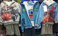 Детские весенние костюмы-тройка для мальчиков 2-6 лет
