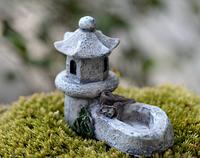 Кормушка - поилка Дом Монаха  для Муравьиной Фермы ( микро декор, малый декор, арт декор, декор для вазонов )