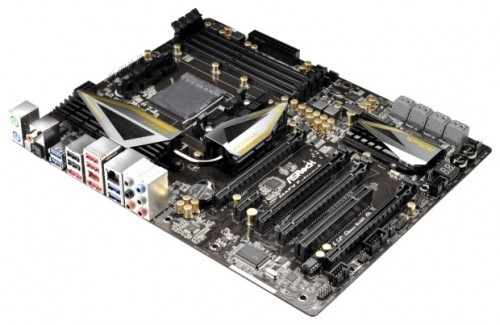 "Материнская плата ASRock 990FX Extreme9 s.AM3+ AMD 990FX DDR3 ""Over-Stock"""