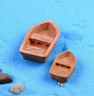 Лодка - рыбака декор для Муравьиной Фермы