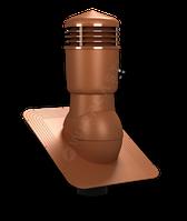 Вентиляційний вихід Wirplast Standard 110 .Утеплений.Для бітумної черепиці. Колір 6020.
