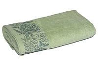 Махровое полотенце TAC Frape 70х140 фисташковое