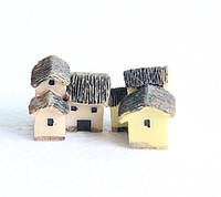 Дом два уровня декор для Муравьиной Фермы мед пластик
