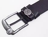 Ремень кожаный для джинс мужской Hermes, фото 4