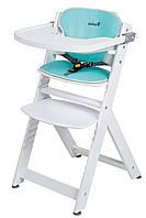 Стульчик для кормления «Safety 1st» Timba, цвет белый, подушка Happy Woods (27609480)