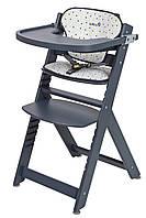 Стульчик для кормления «Safety 1st» Timba, цвет серый, подушка Grey Pathes (27609490)