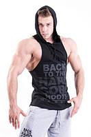 Майка для фитнеса с капюшоном Nebbia 374, фото 1