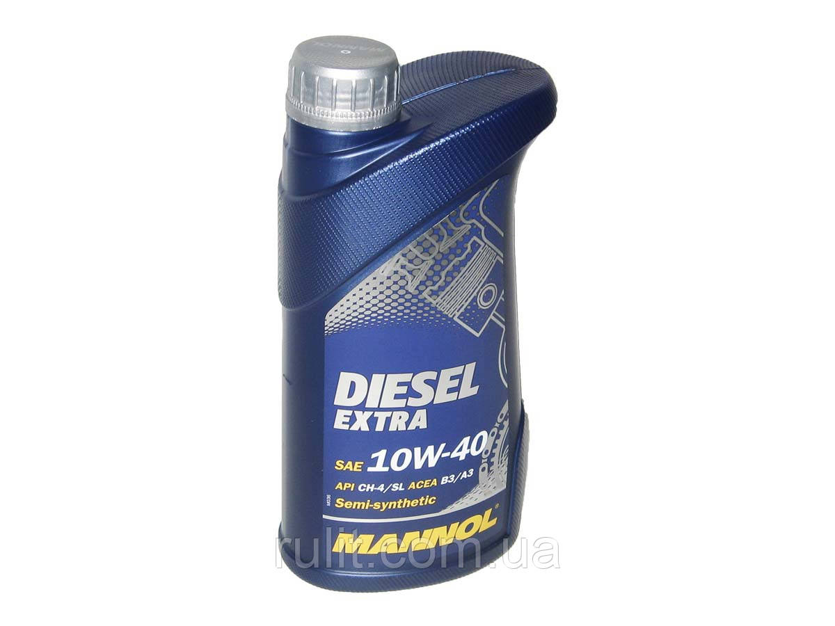 Масло моторное MANNOL Diesel Extra п/синт. 10w40 1L CH-4/SJ