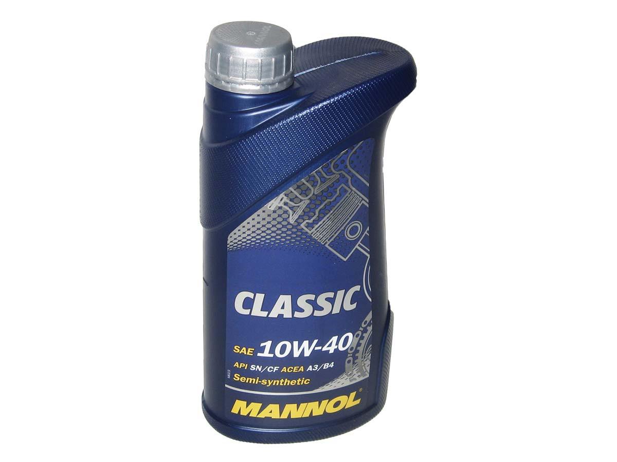 Масло моторное MANNOL Classic п/синт. 10w40 1L SN/CF
