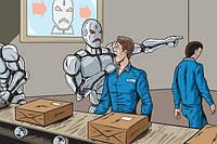 Началось: в Китае на фабрике 90% людей заменили роботами