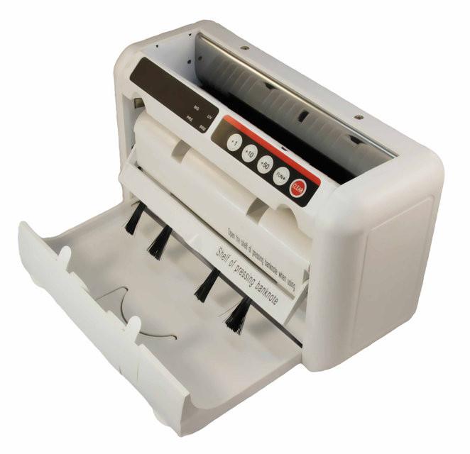 Портативный счетчик купюр с детектором валют