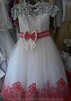 Детские праздничные нарядные платья возраст 5-7-8-9-10 лет S215