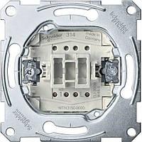 Механизм кнопки 1-кл. кнопочный Schneider серия Merten
