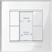 Рамка M-Elegance стекло 1-пост. Schneider серия Merten