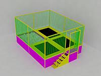 Батутная арена 5,5х4х3, фото 1