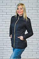 Женская короткая куртка демисезонная