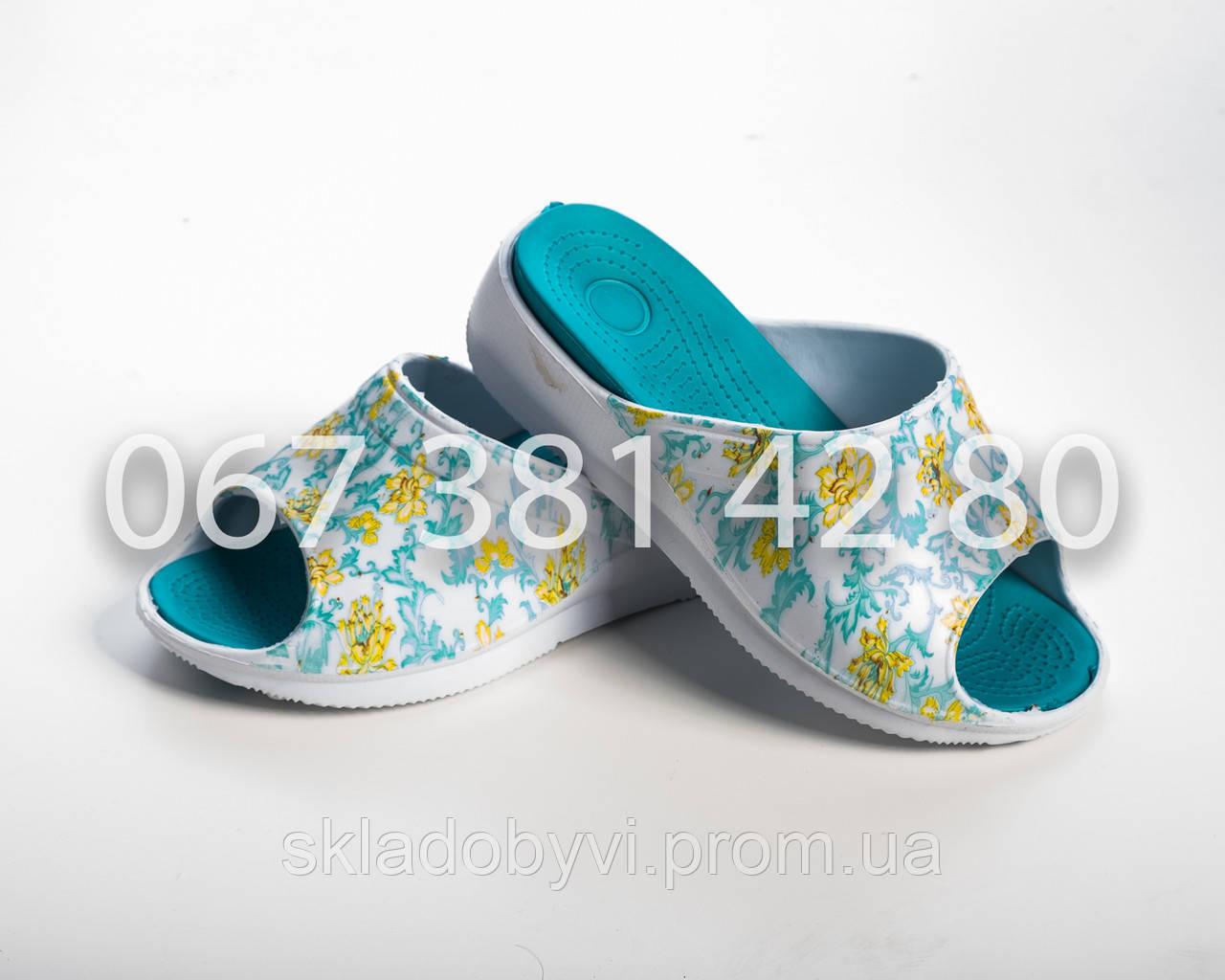 cbc467e0d Шлепанцы летние женские оптом DG 14022 бирюза - Оптовый склад по продаже  обуви в Хмельницком