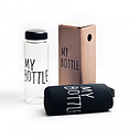 Бутылка My Bottle пластик в плотном чехле объем 500 мл бирюзовая, фото 4
