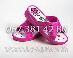 Шлепанцы летние женские оптом DG 237 розовые