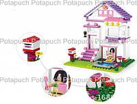 Конструктор Sluban 0532 Розовая Мечта Загородный дом