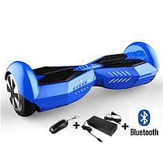 Гироборд ProLogix Junior-X синий, 8 дюймов, мотор 700Вт, скорость 10км/ч, до 120 кг, колонка, Bluetooth, сумка