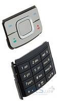 Клавиатура (кнопки) Nokia 6500sl Silver