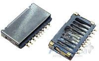 (Коннектор) Aksline Разъем карты памяти Разъем MicroSD Fly IQ4491 quad Original