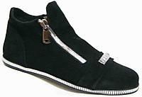 Ботинки женские замша большого размера, ботинки женские больших размеров от производителя модель МИ5261