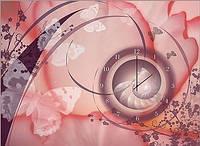 """Картина-часы (50х70 см) """"Бабочка"""""""
