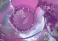 "Картина-часы (50х70 см) ""Фантазия"""