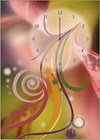 "Картина-часы (50х70 см) ""Цветок"""