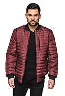 Мужская короткая стеганая куртка весна - осень