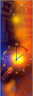 """Картина-часы (30х40 см) """"Электричество"""""""