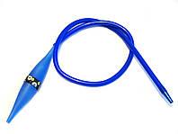 Превосходный силиконовый шланг для кальяна с охлаждением! Синий